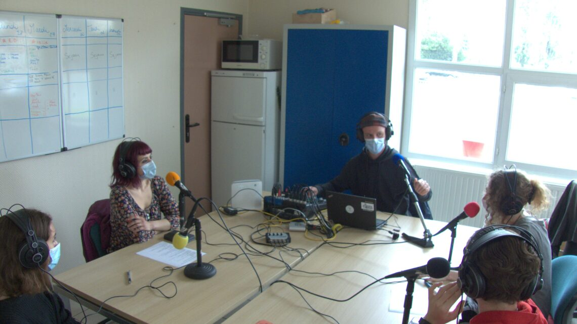Plateau Radio en direct des portes ouvertes du SAJ à Arras